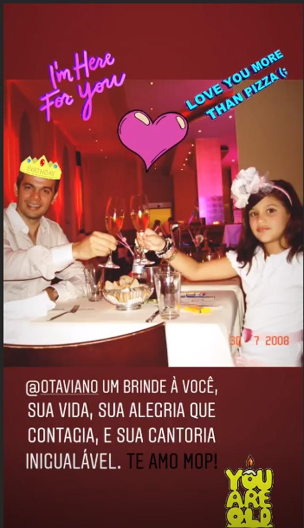 Giulia e Otaviano Costa (Foto: Reprodução/Instagram)