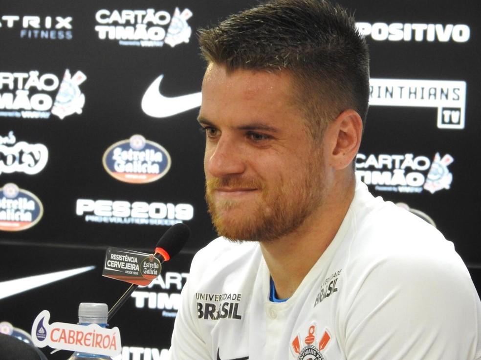 Ramiro acertou um contrato de quatro anos com o Corinthians — Foto: Marcelo Braga