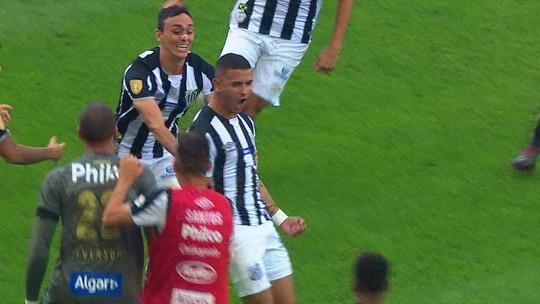 Juntos, três artilheiros do Santos no ano fazem um gol em um mês; Peixe não marca há dois jogos