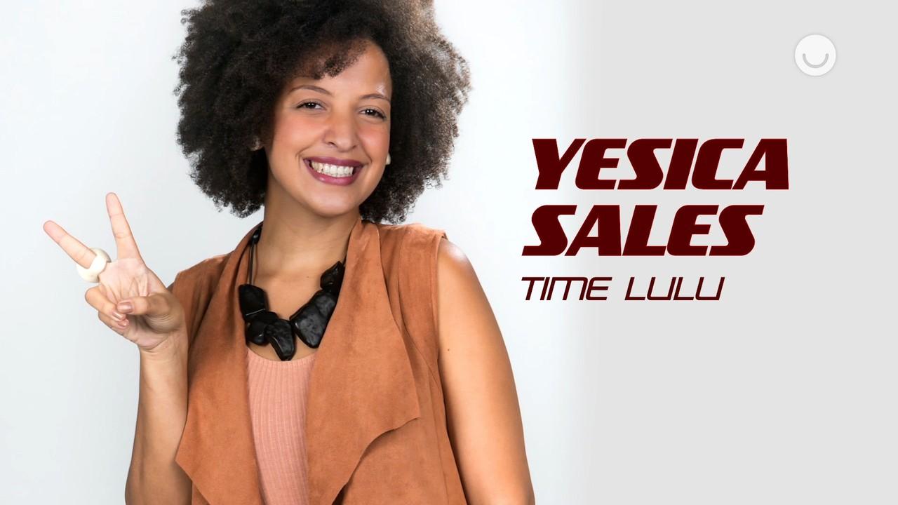 Conheça a participante Yesica Sales, do Time Lulu