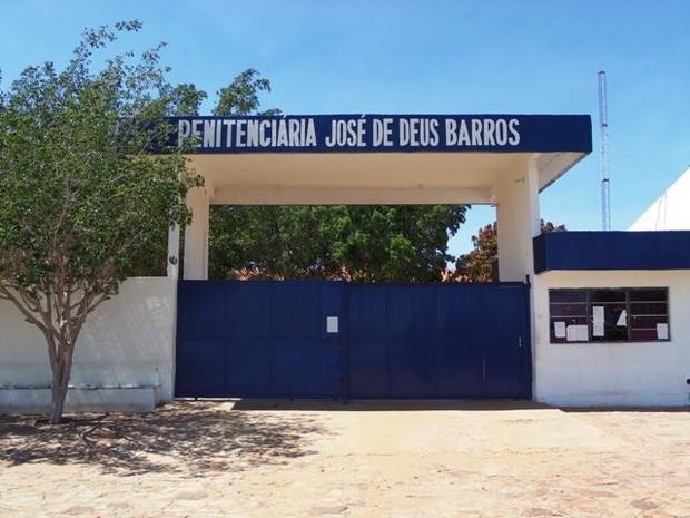 Penitenciária Regional João de Deus Barros em Picos (Foto: Viviane Alves)