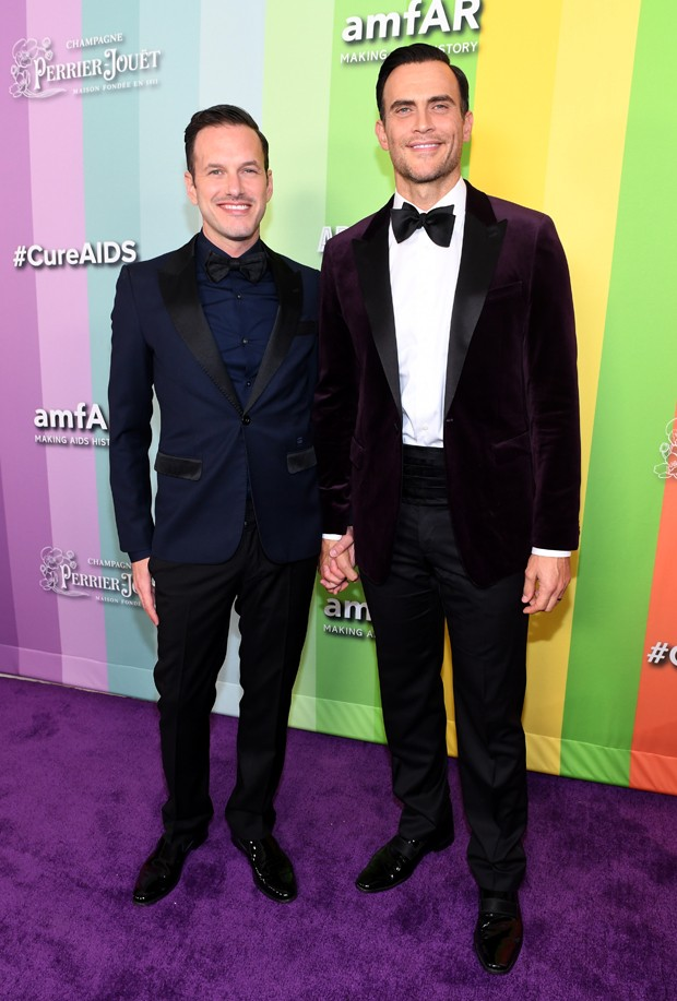 Jason Landau e Cheyenne Jackson (Foto: Getty Images)