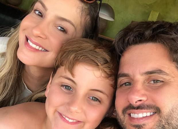 Claudia Leitte e família (Foto: Reprodução/Instagram)