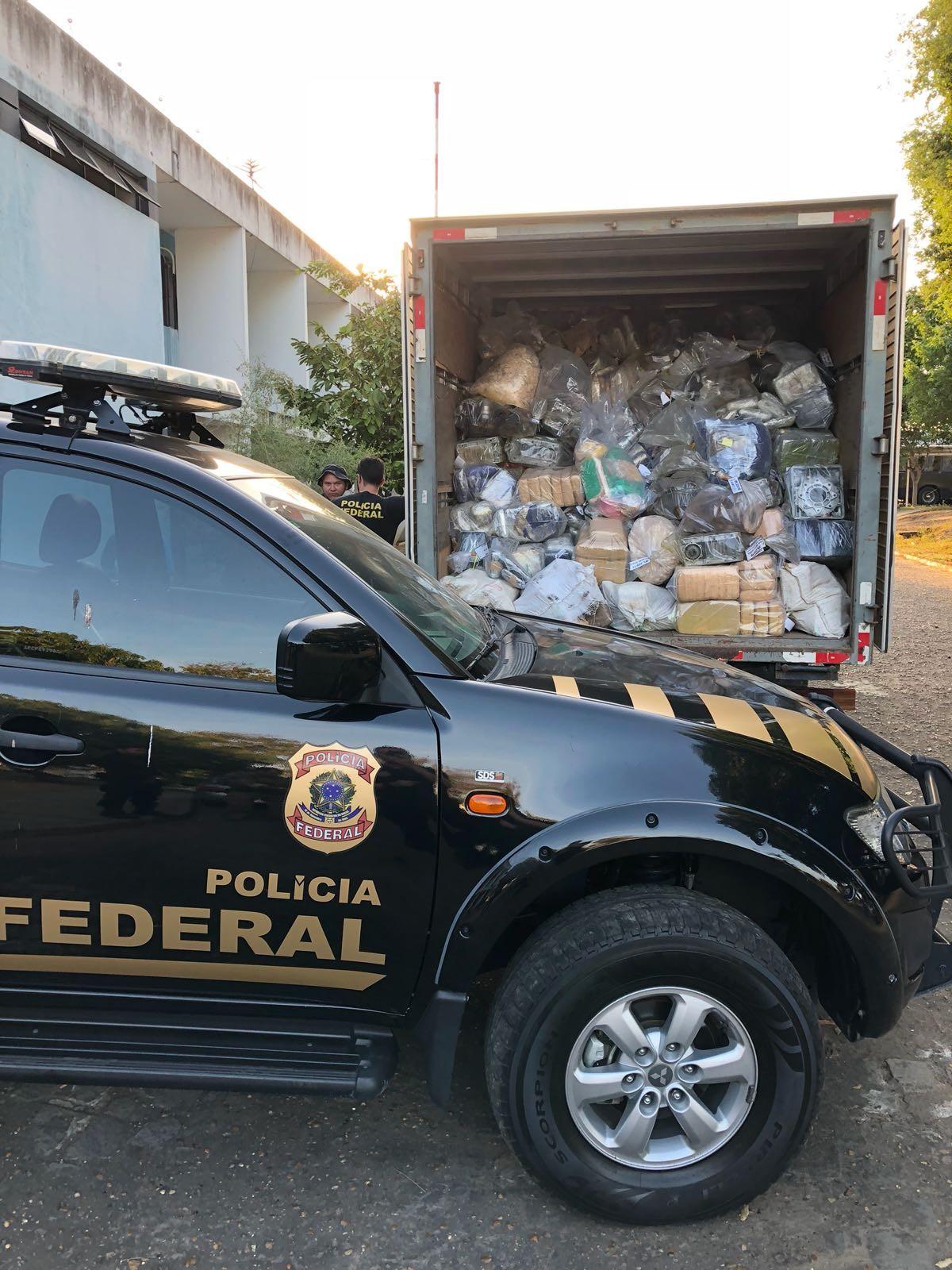 Polícia Federal incinera mais de 4 toneladas de drogas, em Manaus