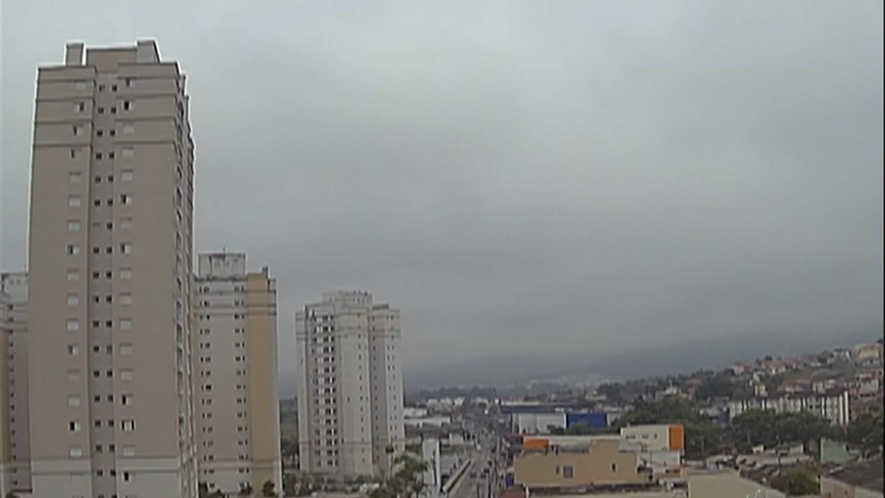 Terça-feira pode ter pancadas de chuva à tarde no Alto Tietê
