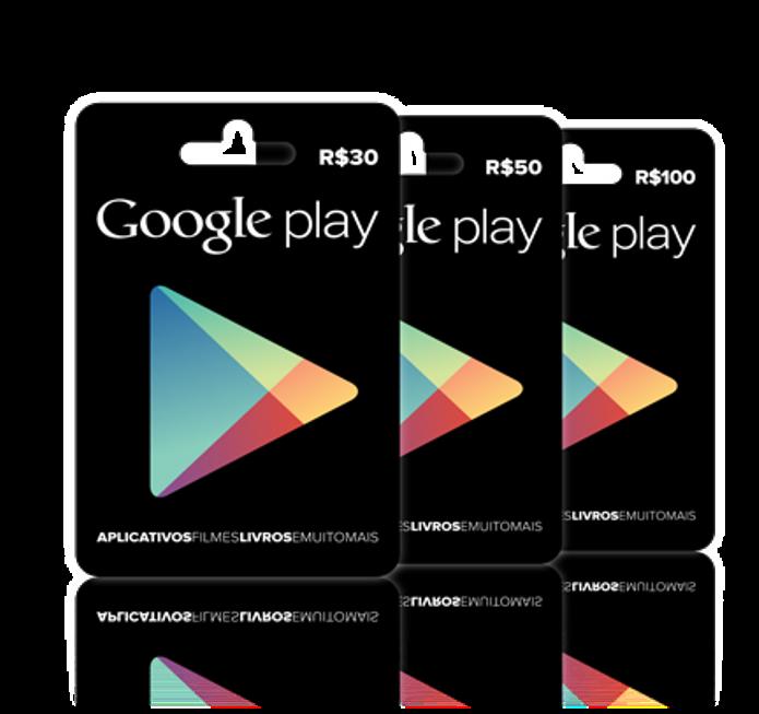 Google Play disponibiliza a venda de vales-presente no Brasil (Foto: Divulgação)