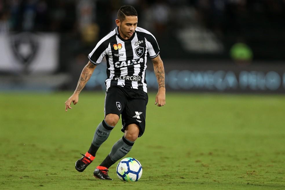 Leandro Carvalho, Botafogo (Foto: Vitor Silva/SSPress/Botafogo)
