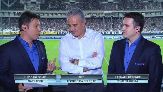 Tite admite chamar mais jogadores que atuam no Brasil em próxima lista
