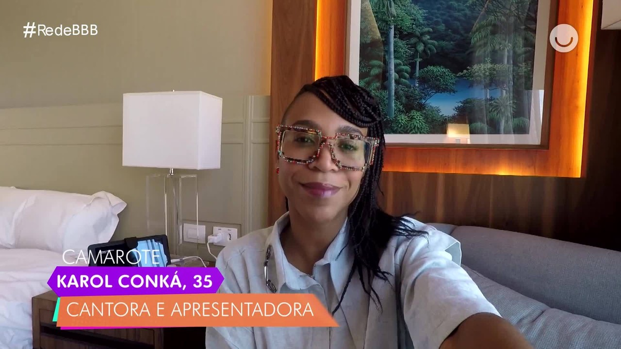Karol Conká, do BBB21, conta de quem escondeu a ida ao BBB no Diário do Confinamento