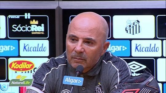 Sampaoli revela reunião com presidente do Santos na segunda e volta a negar que tenha ofertas