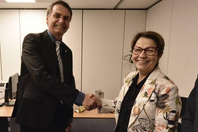 Bolsonaro e Tereza Cristina (Foto: Divulgação)