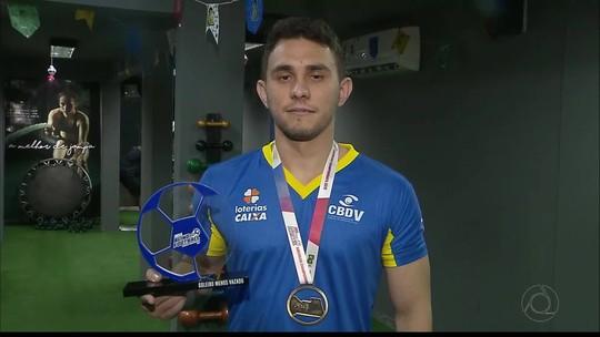 Campeão da Copa América de Futebol de 5, goleiro Luan celebra conquista e mira Paralimpíada