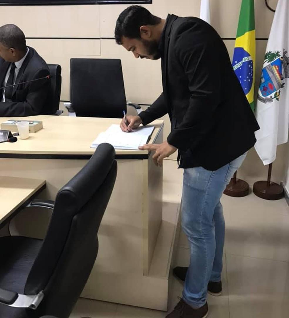 Wendel Coelho foi assassinado em Engenheiro Pedreira — Foto: Reprodução / Rede social