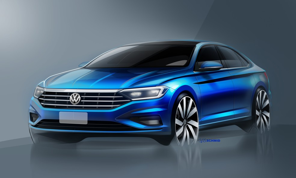 Volkswagen Jetta 2019 (Foto: Volksagen/Divulgação)