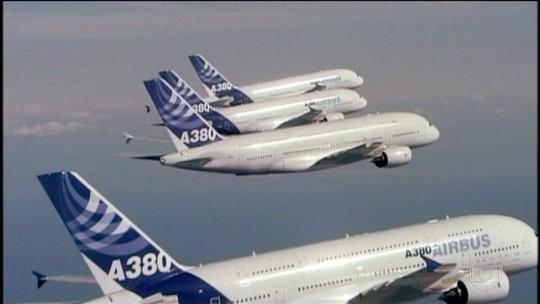 Airbus suspende fabricação do A-380