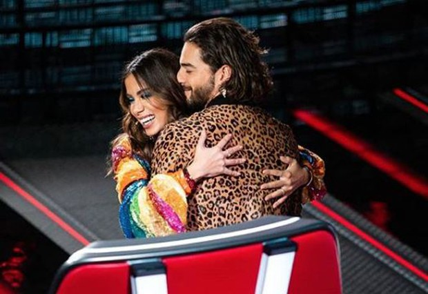 Anitta e Maluma (Foto: Reprodução/Instagram)