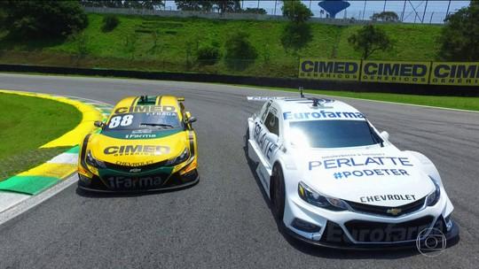 Rivalidade entre Daniel Serra e Felipe Fraga pegou fogo na Stock Car na temporada 2018