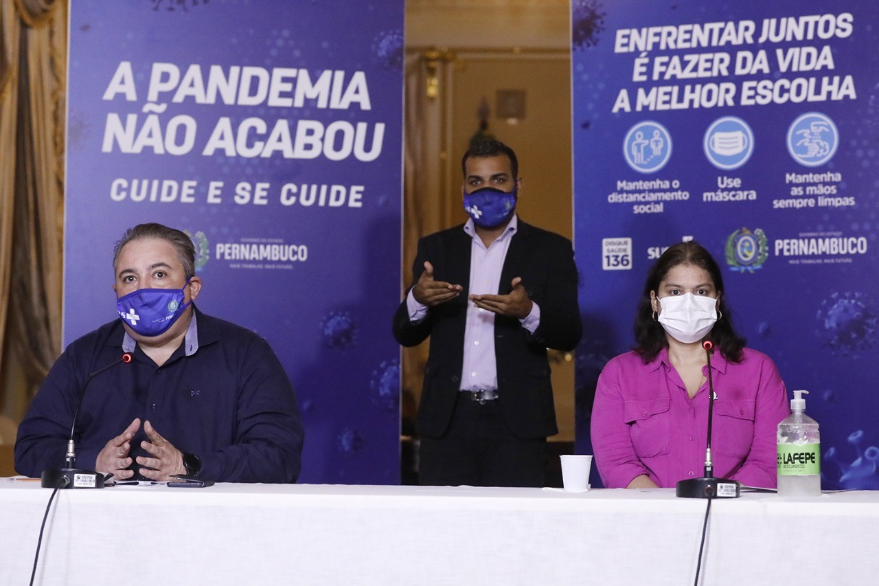 Número de casos de Covid no Agreste aumenta 44,5% em 15 dias; estado avalia novas medidas na região