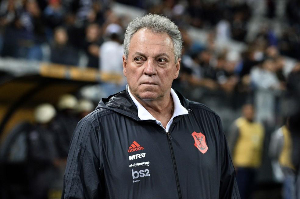 Flamengo conseguiu objetivo na Libertadores, mas aproveitamento e desempenho caíram muito após o título Carioca — Foto: Marcos Ribolli