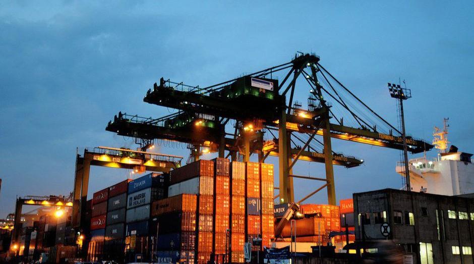 Exportação, importação, conteiner (Foto: Portao Governo Brasil)