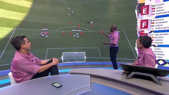 Grafite analisa gols da Inglaterra e Colômbia
