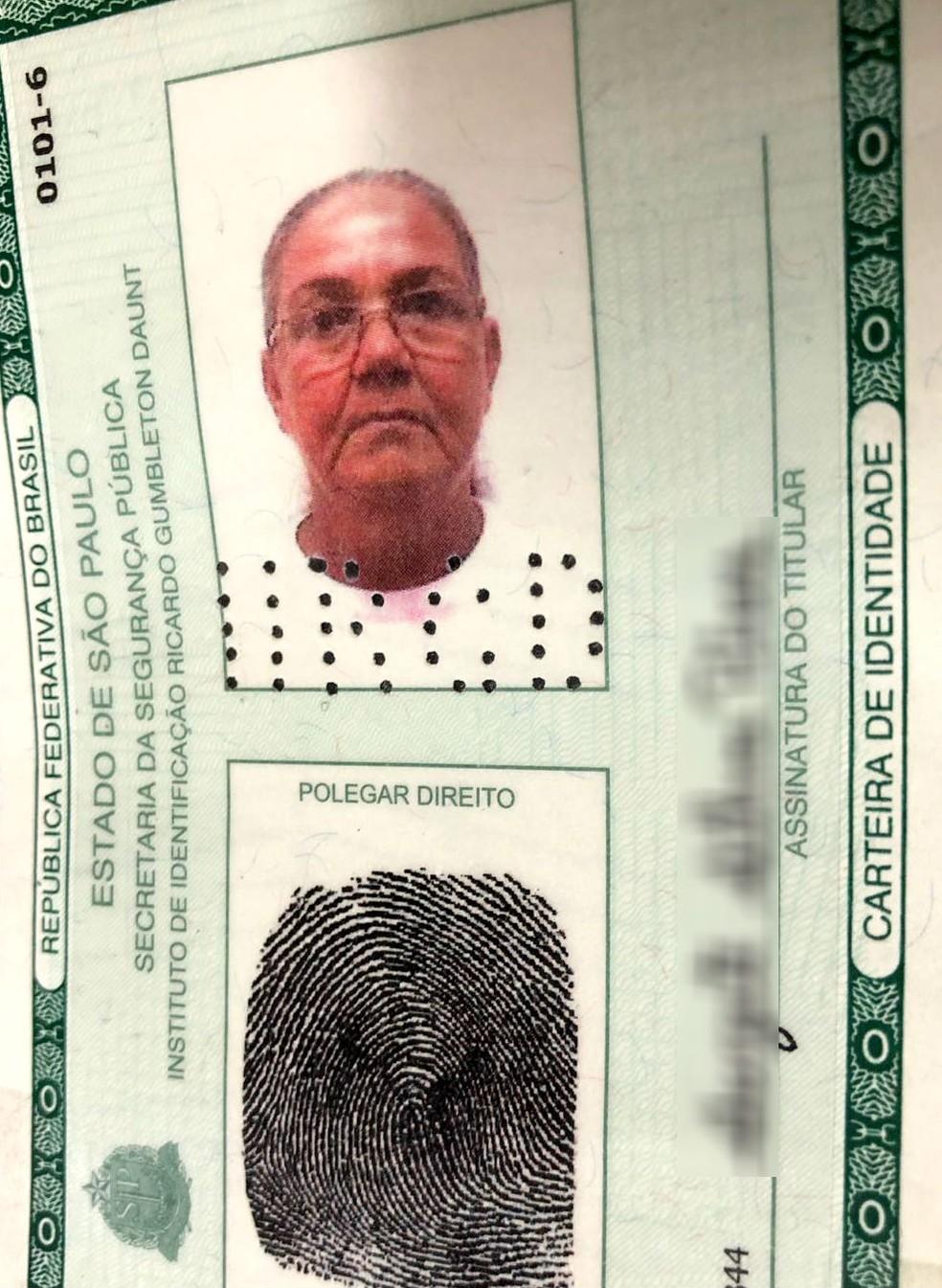 Golpista recebeu da quadrilha paulistana documentos falsificados com sua foto (Foto: TV TEM/Reprodução)