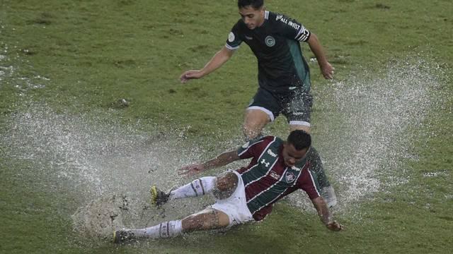 Everaldo. Fluminense x Goias