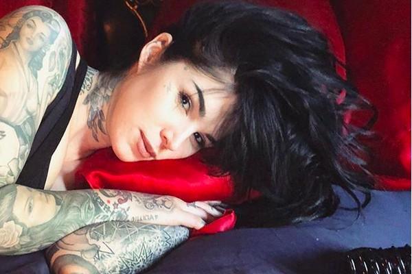 A tatuadora Kat Von D (Foto: Instagram)