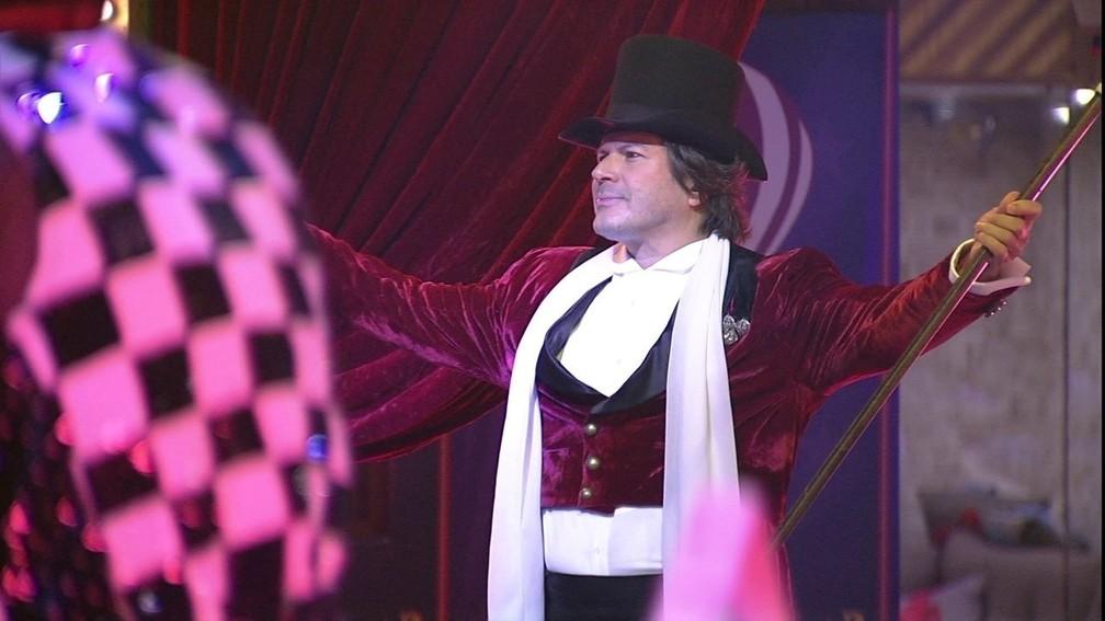 Paulo Ricardo canta em festa do BBB18 — Foto: Divulgação/TV Globo