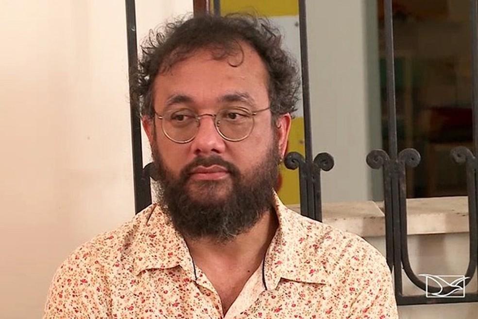 Saulo Pinto é candidato ao Senado pelo PSOL (Foto: Reprodução / TV Mirante)