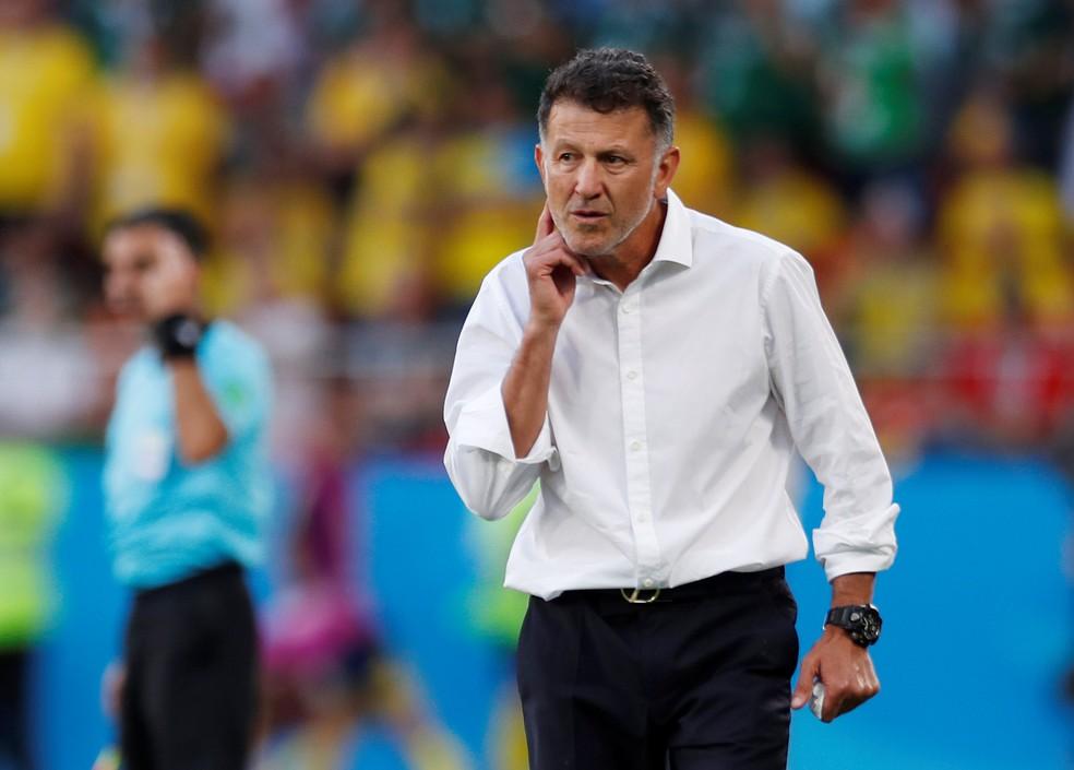 Osorio não quer ver seu time recuado (Foto: Andrew Couldridge/Reuters)
