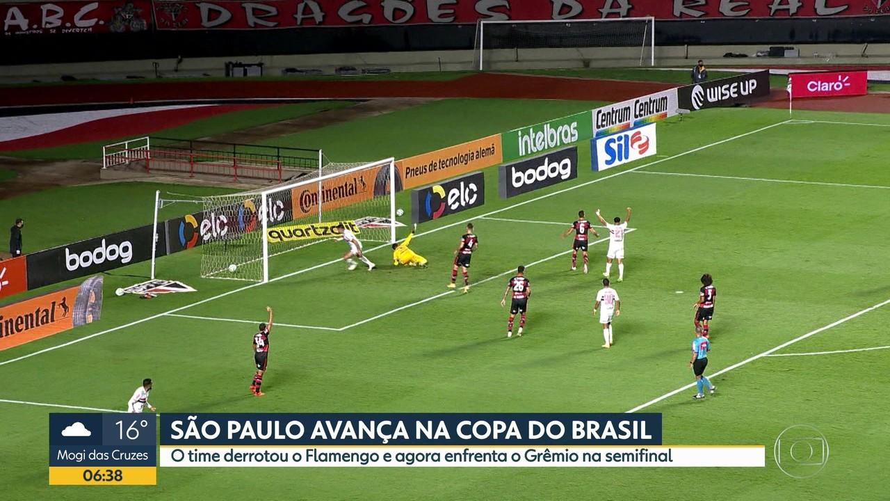 Palmeiras e São Paulo avançam na Copa do Brasil
