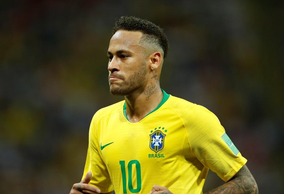 Neymar entrou de férias após eliminação do Brasil na Copa (Foto: John Sibley / Reuters)
