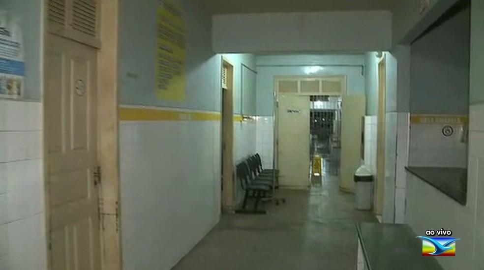 Unidade de Saúde foi alvo de assalto no bairro Bequimão — Foto: Reprodução/TV Mirante