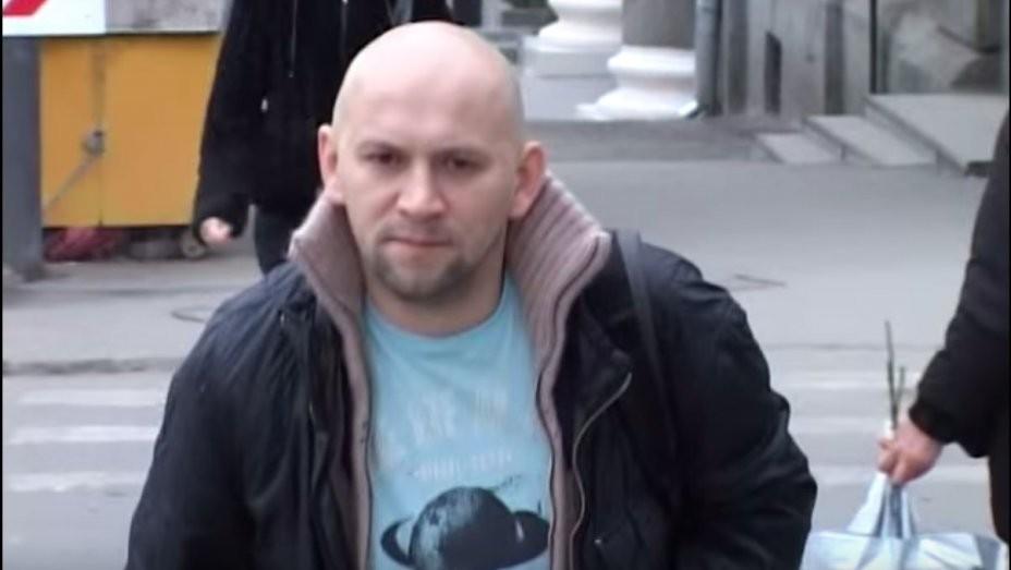 O cineasta e opositor de Putin, Alexander Rastorguev (Foto: YouTube)