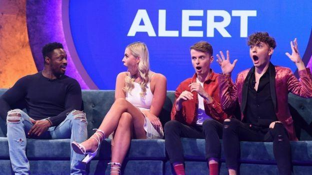 Os concorrentes do The Circle só interagiram por meio de uma rede social durante o programa (Foto: CHANNEL 4 via BBC News Brasil)