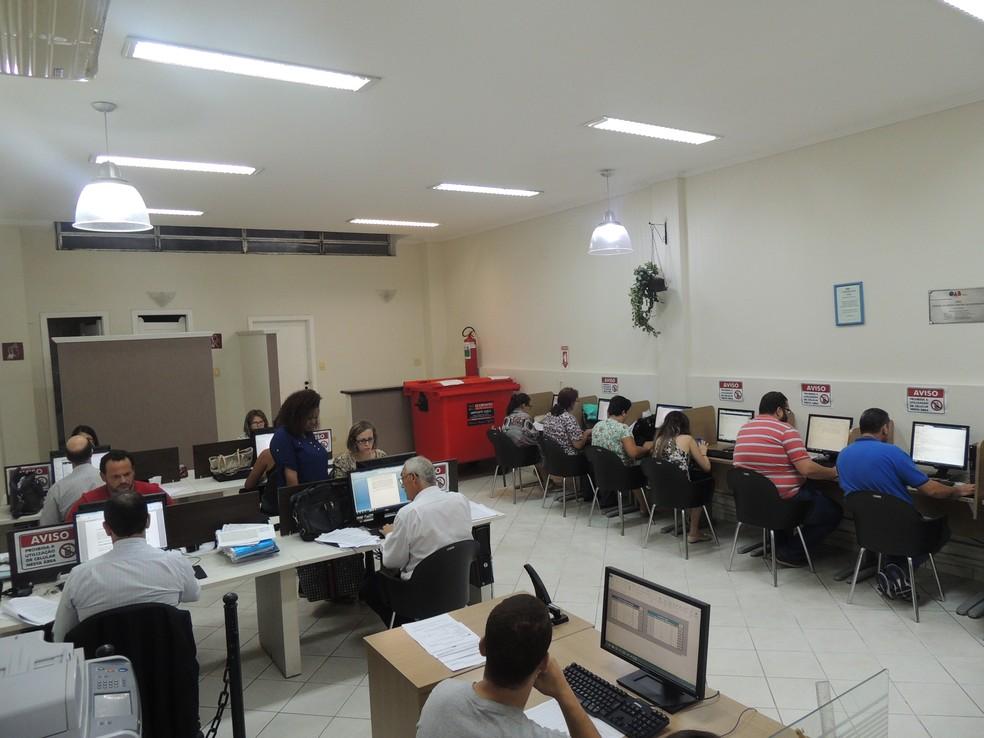 Centro de apoio Digital - C@D (Foto: Nathalie Monteiro – Assessoria OAB Santos)