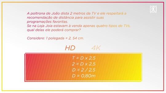 Projeto Educação: aprenda a calcular a distância correta para assistir à TV