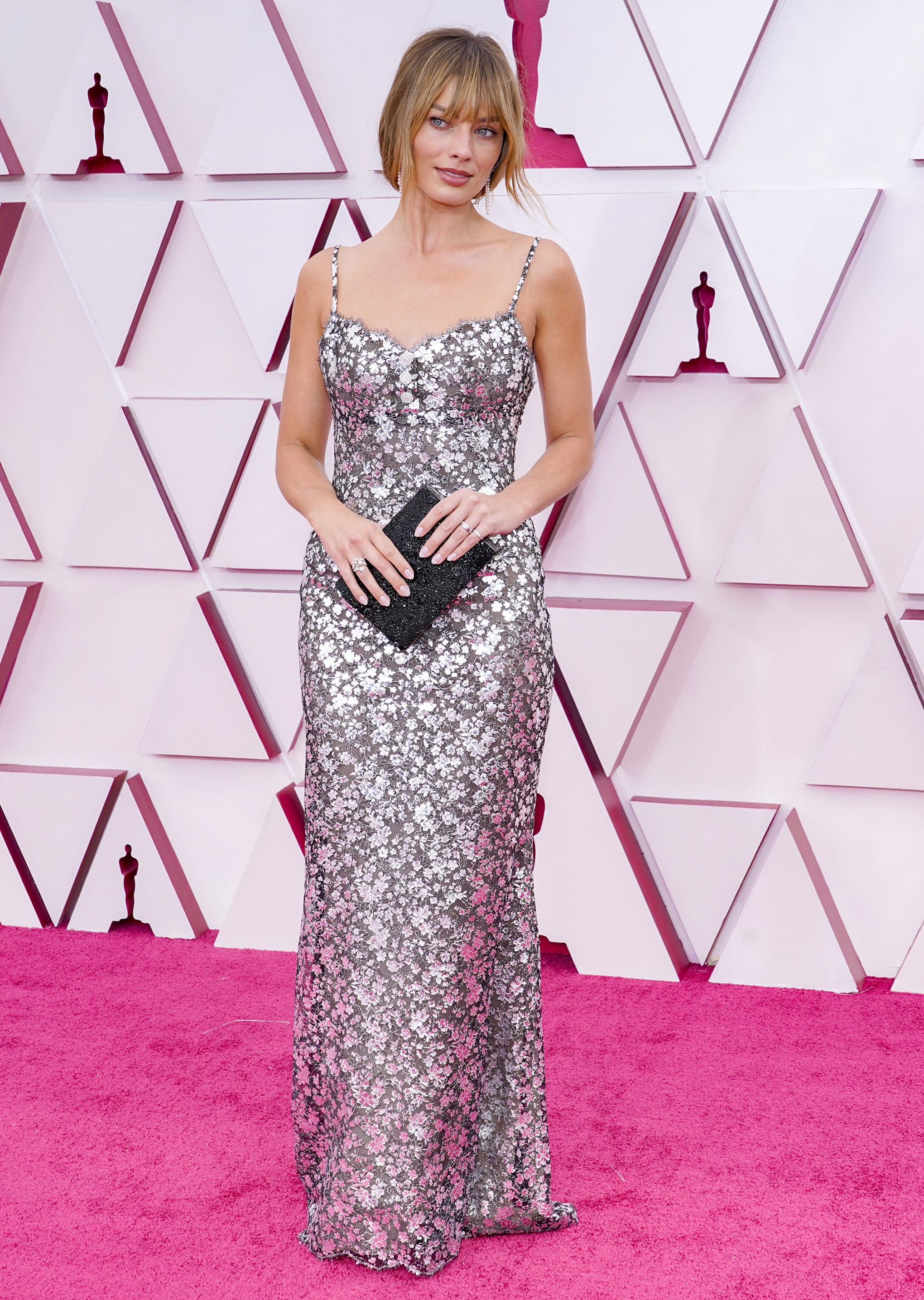 LOS ANGELES, CALIFORNIA – APRIL 25: Margot Robbie attends the 93rd Annual Academy Awards at Union Station on April 25, 2021 in Los Angeles, California. (Photo by Chris Pizzello-Pool/Getty Images) (Foto: Getty Images)