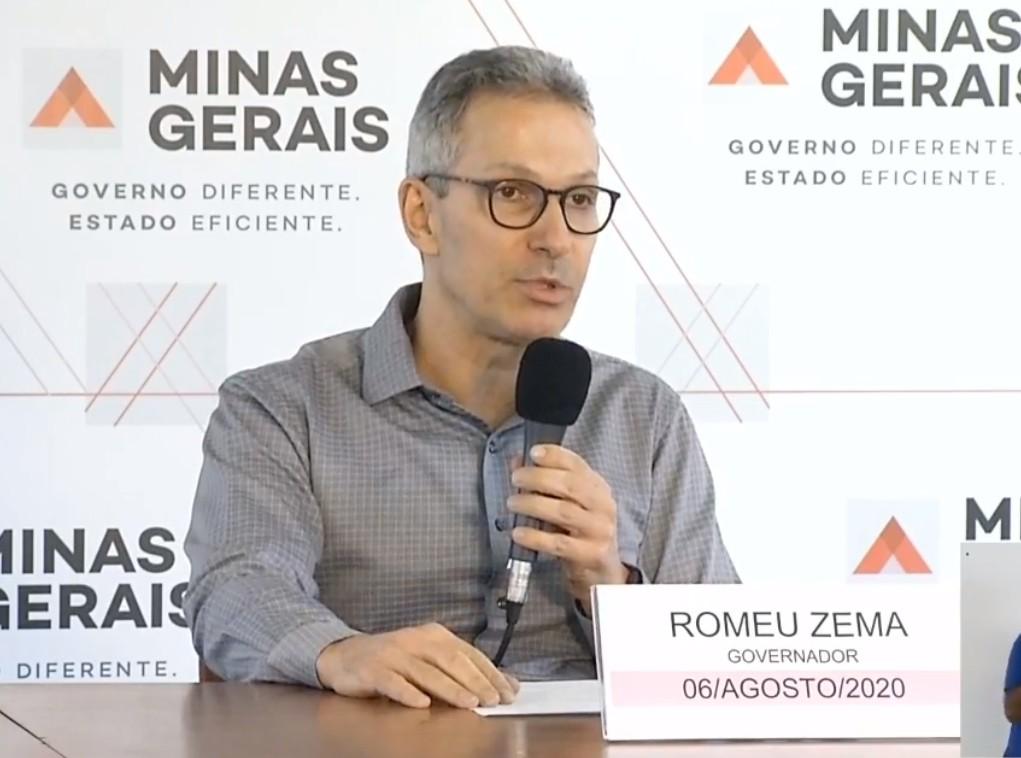 Zema anuncia que contas da energia elétrica não vão ser reajustadas neste ano em Minas