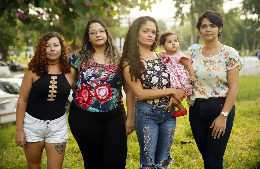 Participantes do coletivo 'Mães da UFRJ'. — Foto: Marcos Serra
