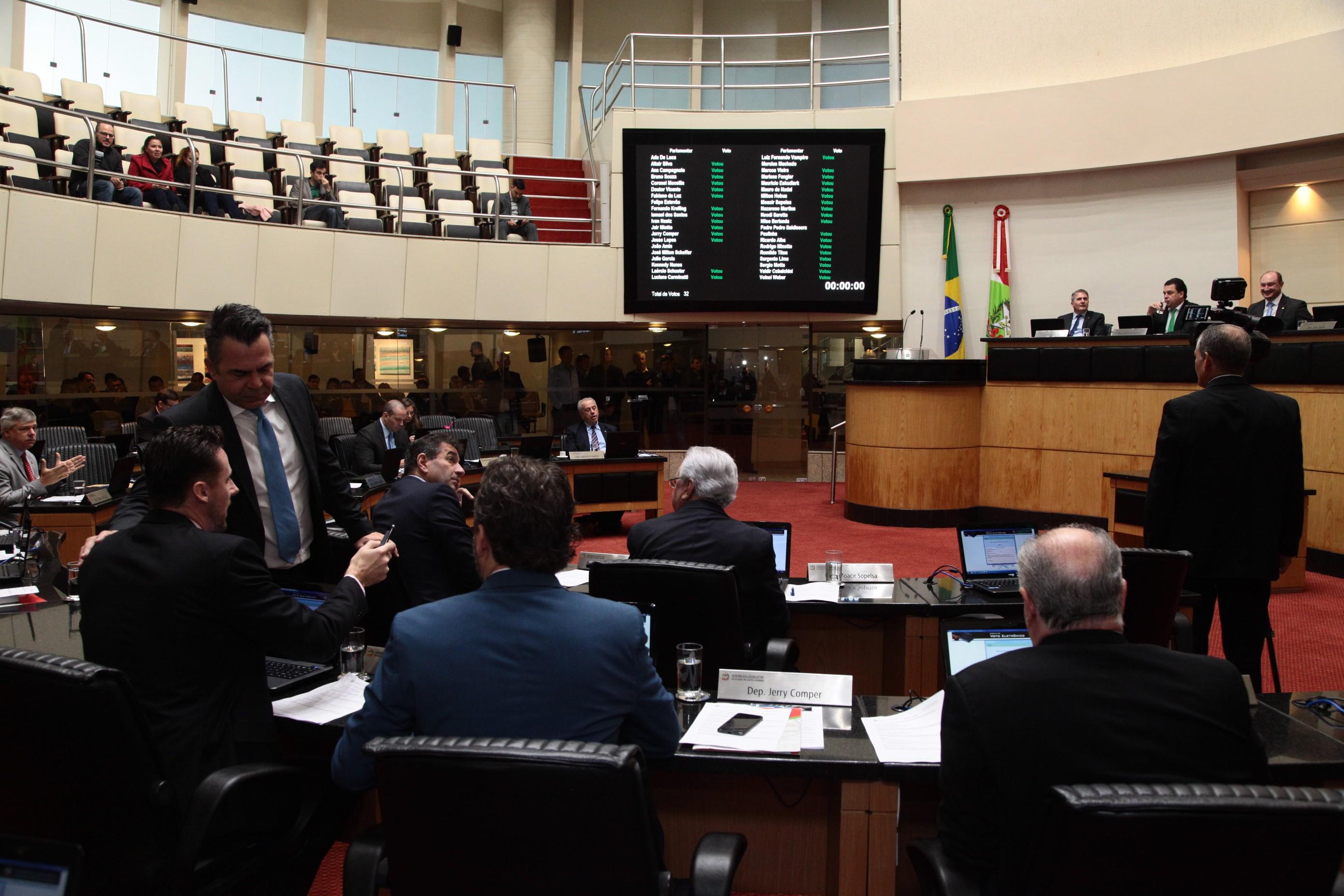 Alesc aprova 3 projetos de lei sobre benefícios fiscais - Notícias - Plantão Diário