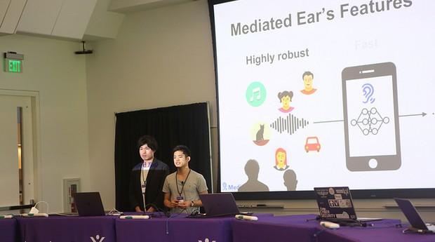 Mediated Ear, da Universidade de Tóquio, no Japão (Foto: Divulgação)