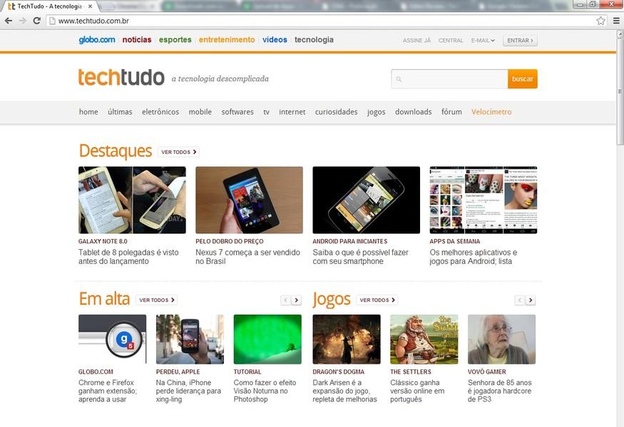 Google Chrome Canary | Download | TechTudo