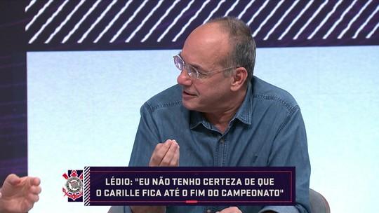 """Petkovic elogia entrevistas de Carille após atuações do Corinthians: """"Finalmente sinceras"""""""