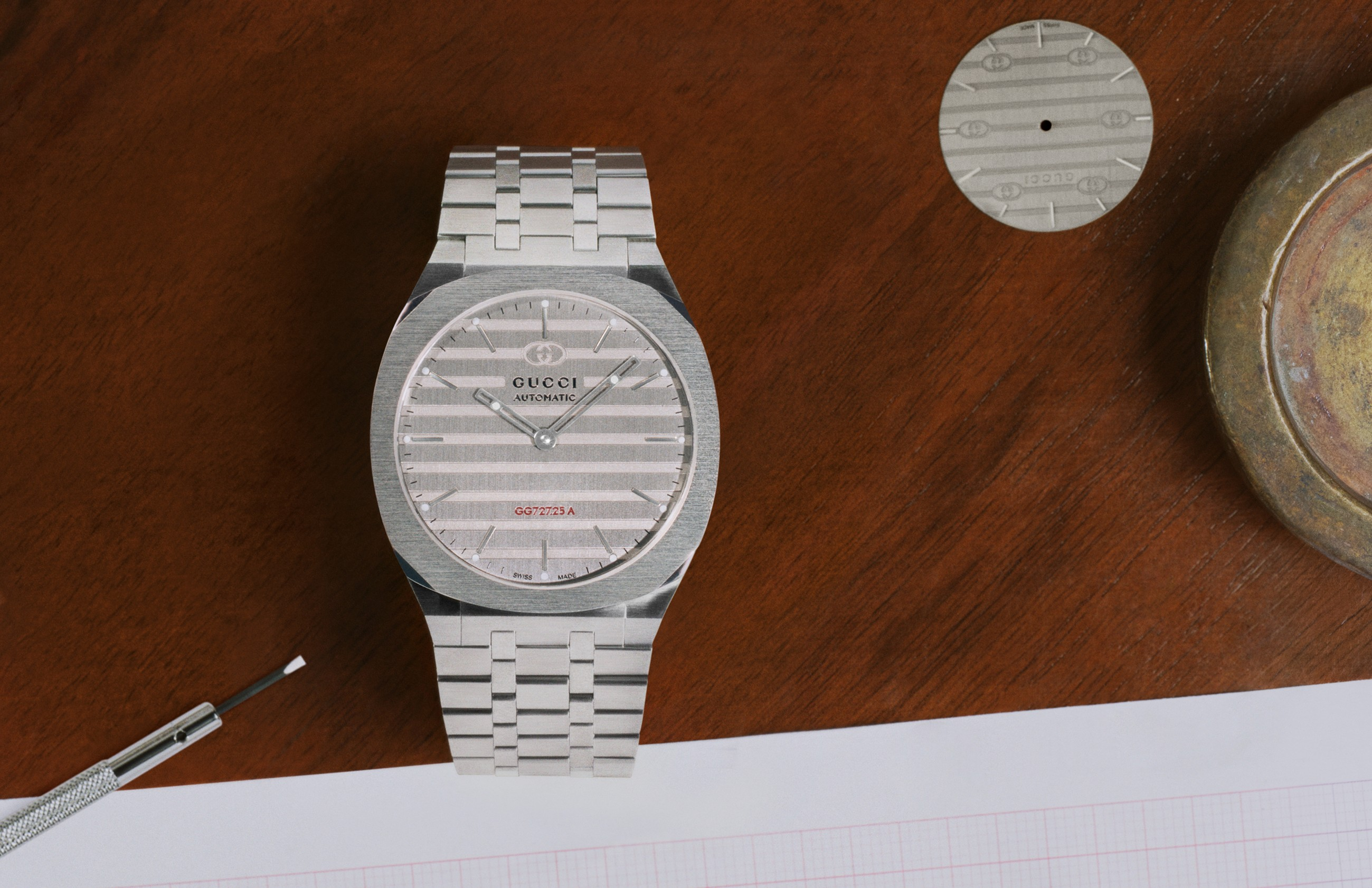 Relógio Gucci 25H (Foto: Divulgação)