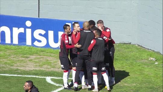 O gol de Brasil de Pelotas 1 x 0 Vitória pela 14ª rodada da Série B do Campeonato Brasileiro
