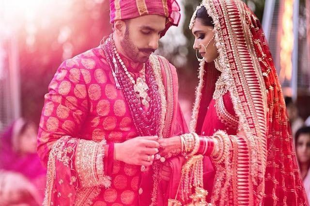 Ranveer Singh e Deepika Padukone se casaram em novembro, em uma cerimônia indiana tradicional (Foto: Instagram Deepika Padudkone)