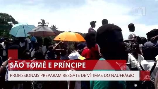 6 morrem após naufrágio de navio em São Tomé e Príncipe