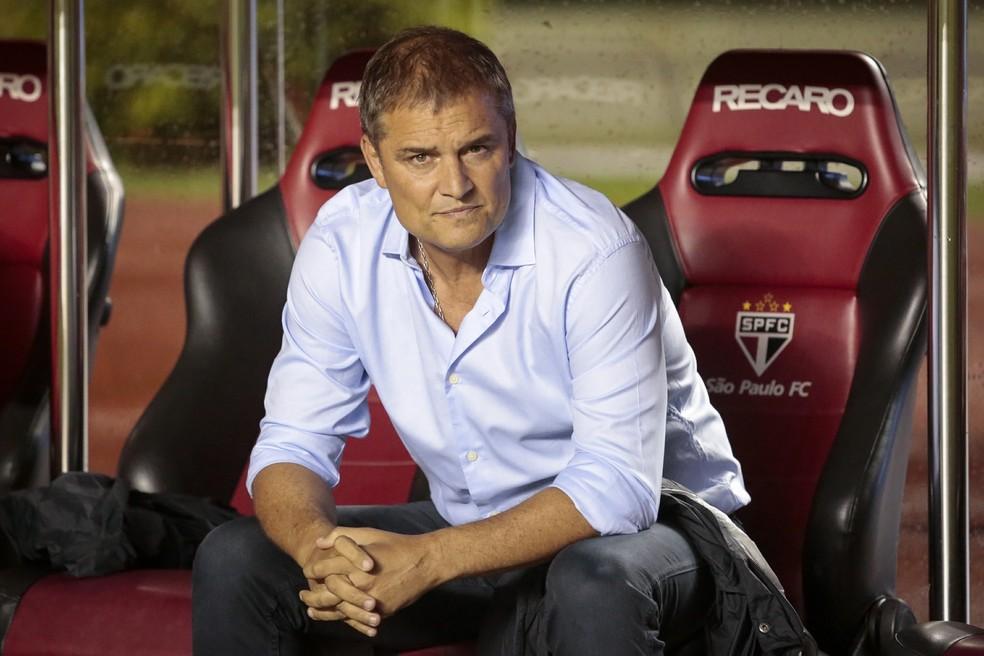 Diego Aguirre terá tempo para arrumar o São Paulo para as semifinais do Paulistão (Foto: Alê Frata / Estadão Conteúdo)